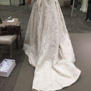 Wedding dress. Worn once, by mistake